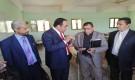 تعز.. الحاج يزور كلية المجتمع بالمعافر ويرأس الاجتماع الأول للجهاز التنفيذي