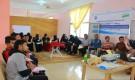 رموز تقيم الدورة التدريبية الثانية بالشراكة مع مركز sos للشباب الصم بعدن