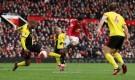 مانشستر يونايتد يضرب واتفورد ويقترب من المربع الذهبي