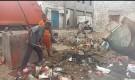 تواصل أعمال حملة النظافة الشاملة في عموم من مناطق مديرية الشيخ عثمان