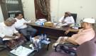 الصيعري يلتقي مدير عام الإدارة العامة للبحوث بديوان وكيل محافظة حضرموت
