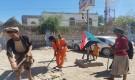 أنتقالي مودية يدشين حملة نظافة شاملة لشوارع المديرية