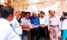 وزير الصحة يطلع على مشاريع القطاع الصحي بمديريات حضرموت الوادي