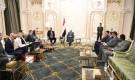 رئيس الجمهورية يشيد بجهود مملكة السويد في سبيل تحقيق السلام والاستقرار في اليمن