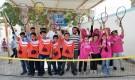 انطلاق بطولة مدرسة الجيل الأولى للتنس بعدن