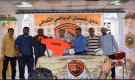 الكابتن محمد ختام مدربا للفريق الكروي لنادي شمسان بعدن