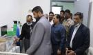 محافظ عدن يتفقد مركز الترصد الوبائي بمستشفى الامل في مديرية البريقه