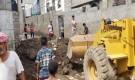استكمال أعمال تنظيف ما خلفته أضرار السيول بمديرية المعلا