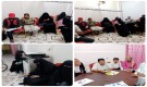 لجنة طوارئ خنفر وعدداً من منظمات المجتمع المدني في المديرية تعقد لقاءاً  لبدء حملة توعوية لمواجهة  فيروس كورونا