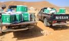 مركز الملك سلمان يواصل توزيع السلال الغذائية للمتضررين من السيول في حضرموت