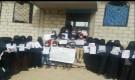 فريق ينابيع الخير يقدمن مبادرة شبابية تطوعية في حملات توعية ضد كورونا بالضالع