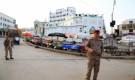 ضمن الاجراءات الاحترازية والوقائية اهالي مدينة سيئون يلتزمون لقرار حظر التجوال بالمدينة