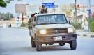 قوات معسكر كوارتز تنتشر في شوارع مديرية غيل باوزير لفرض حظر التجوال