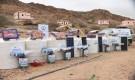 مؤسسة سواعد تدشن مشروع تأثيث المنازل وتوزيع خزانات المياه في لحج
