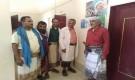 مدير عام جيشان يلتقي بالكادر الطبي للوحدة الصحية بعاصمة المديرية