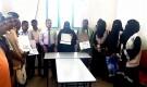 الوحدة التنفيذية لإدارة مخيمات النازحين بمحافظة ابين تكرم عدد من الشخصيات الاجتماعية البارزة في المحافظة