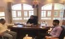 مشبح يناقش مع فريق وزارة الإدارة المحلية خطة تنمية الموارد للوحدات الإدارية