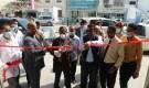 البحسني يفتتح مختبرات الحاج الطبية الخاصة بحي ابن سيناء