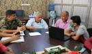 محلي الشيخ عثمان يسلم موقع مشروع إنشاء وإعادة تأهيل شبكة الصرف الصحي بمنطقة عبد القوي