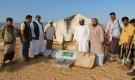 مدير عام حصوين يدشن الإغاثة العاجلة لمتضرري الأمطار المقدمة من مركز الملك سلمان للإغاثة