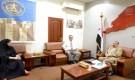 بن بريك يلتقي مديرة بنك اليمن والكويت في العاصمة عدن( Translated to English )