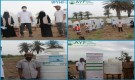 مؤسسة شباب أبين تدشن توزيع خزانات وحمامات للنازحين في مديريتي خنفر وزنجبار