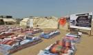 مجلس تهامة يوزع المرحلة الثانية من اغاثة النازحين في عدن
