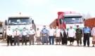 الوكيل الكثيري يدشن استلام وتوزيع المساعدات العمانية الطبية لمستشفيات وادي حضرموت