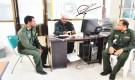 مدير عام شرطة سقطرى يطلع على استئناف معاملات المواطنين في مصلحة الأحوال المدنية