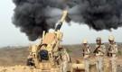مدفعية الجيش الوطني تدك مخازن أسلحة وتجمعات حوثية في جبهة باقم بصعدة
