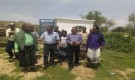 وكلاء في وزارة الزراعة ومدير عام كرش والقبيطة يتفقدون اضرار السيول