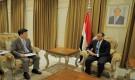 وزير الخارجية يتسلم نسخة من اوراق اعتماد سفير كوريا الجنوبية