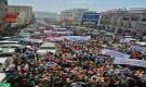 تعــــز: تظاهرة حاشدة دعماً للشرعية وللمطالبة بإنهاء أعمال الفوضى بالمدينة