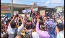 مسيرة جماهيرية حاشدة في مودية رفضا للتطبيع مع إسرائيل