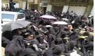 مسلحي الحوثي يعتدون على تظاهرة نسائية في صنعاء