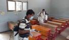 لجنة الاغاثة بانتقالي أبين تواصل حملة الرش والتعقيم في مدارس زنجبار