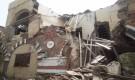 تعز...انهيار أجزاء من المتحف الوطني بالمحافظة..(صور)