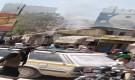 حريق يلتهم مخبز ومحلات تجارية ويتسبب بخسائر تقدر بملايين في سيئون