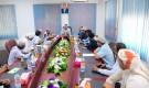 اجتماع تنسيقي بين وزارة الخدمة وشركتي صافر والغاز اليمنية في مأرب