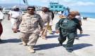 قائد اللواء الأول مشاة بحري ومدير عام الشرطة يتفقدان سير العمل في ميناء سقطرى