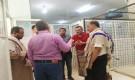 فريق من صندوق المعاقين يطلع على خدمات قسم العلاج في مستشفى دار السلام للصحة النفسية بالحديدة
