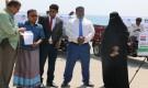 استجابة تدشن مشروع تمليك تكتك لـ25 أسرة بساحل حضرموت