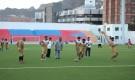 فريق التلال يجري حصصه التربية على ملعب الحبيشي قبل مواجهة الوحدة