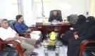مناقشة أوجه التعاون المشترك بين المركز الوطني لمختبرات الصحة العامة المركزية بساحل حضرموت ومؤسسة سدن للثلاسيميا وأمراض الدم الوراثية بالمكلا