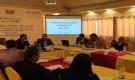 مناقشة تقرير التنميط الحضري لمدينة زنجبار المعد من قبل برنامج الامم المتحدة للمستوطنات البشرية