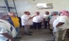 لحج ..مدير عام الملاح يقوم بزيارة تفقدية لمستشفى الملاح الريفي