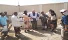 مستشفى المحفد يتسلم مولد كهربائي من منظمة أطباء بلا حدود