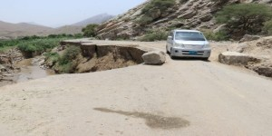 طريق باتيس .. كبث بأبين.. خطرٌ داهم يتهدد حياة المسافرين .!!