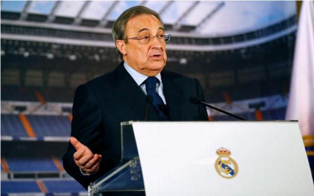 م يتقدم أي شخص لمنافسته بيريز يحتفظ بمنصبه رئيسا لريال مدريد بالتزكية