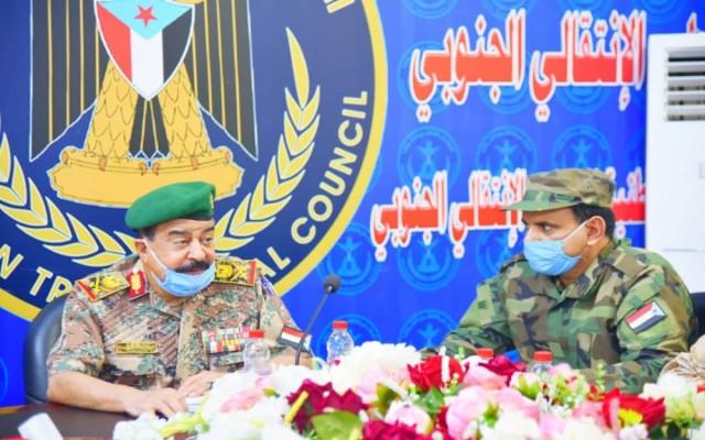 المجلس الانتقالي : اجتماع هام للقيادات العسكرية